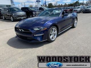 New 2019 Ford Mustang EcoBoost Premium Convertible for sale in Woodstock, ON