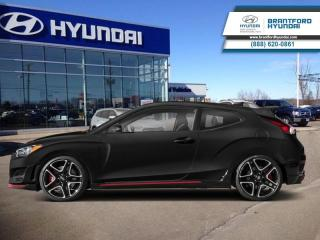 New 2019 Hyundai Veloster N Manual  - $207.60 B/W for sale in Brantford, ON