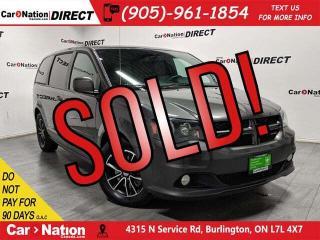 Used 2015 Dodge Grand Caravan R/T| LOCAL TRADE| DVD| NAVI| LEATHER| for sale in Burlington, ON