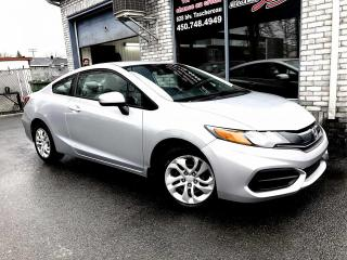 Used 2014 Honda Civic 2 portes, boîte manuelle, LX for sale in Longueuil, QC