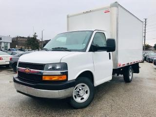 Used 2018 Chevrolet Express Cutaway 3500 139 Wheelbase 12FT Transit BOX|6.0L V for sale in Mississauga, ON