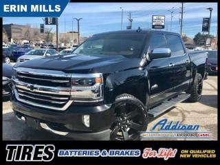 Used 2017 Chevrolet Silverado 1500 High Country Navi|Sunroof|22RIMS|Vented BKT Seats| for sale in Mississauga, ON