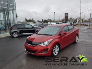 Used 2015 Hyundai Elantra Gl, A/c, Bluetooth for sale in Chambly, QC