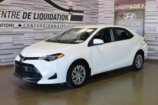 Used 2018 Toyota Corolla LE CAMERA for sale in Laval, QC