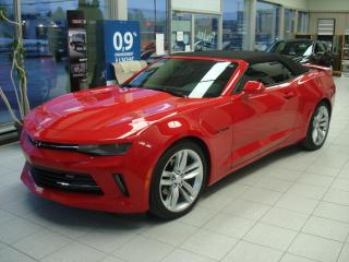 Used 2018 Chevrolet Camaro CONVERTIBLE LT for sale in Thetford Mines, QC