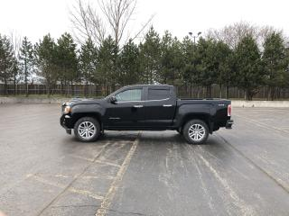 Used 2015 GMC Canyon SLT crew cab 4X4 for sale in Cayuga, ON