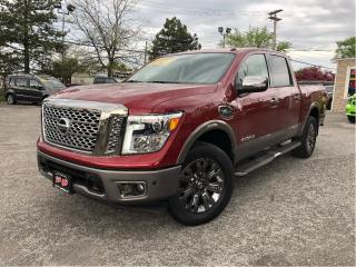 Used 2017 Nissan Titan Platinum Reserve | Sunroof| Leather | Crew | 4WD | for sale in St Catharines, ON
