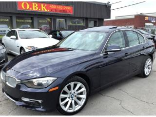 Used 2014 BMW 320 T.ouvrant-Bluetooth for sale in Laval, QC