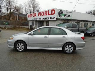 Used 2005 Toyota Corolla Sport for sale in Scarborough, ON