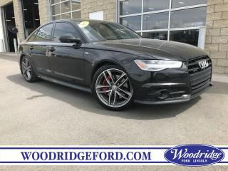 Used 2017 Audi A6 3.0T Competition ***PRICE REDUCED*** 3.0L V6, WINTER TIRES INC, NAVIGATION, SUNROOF, LEATHER for sale in Calgary, AB