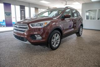 Used 2018 Ford Escape SEL Moonroof, Navigation and leather, Accident Free for sale in Okotoks, AB