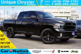 Used 2017 RAM 1500 BLACK EXPRESS| 5.7L HEMI| 4X4| BLUETOOTH| SIRIUSXM for sale in Burlington, ON