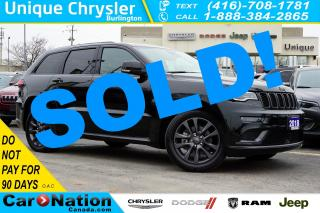 Used 2018 Jeep Grand Cherokee OVERLAND  HIGH ALTITUDE  AIR SUSPENSION & MORE for sale in Burlington, ON