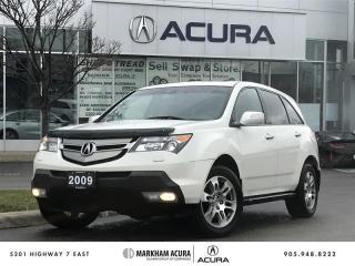 Used 2009 Acura MDX 5sp at SH-AWD, 3.7L V6 300HP, 7-Passenger for sale in Markham, ON