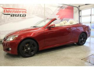 Used 2010 Lexus IS 250 GPS for sale in Lévis, QC