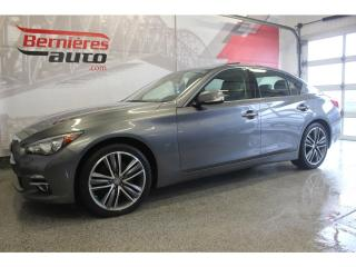 Used 2015 Infiniti Q50 3.7l Awd+ Navigation for sale in Lévis, QC
