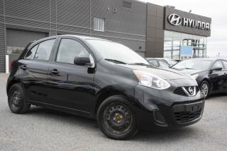 Used 2015 Nissan Micra S à hayon 4 portes BM for sale in St-Hyacinthe, QC
