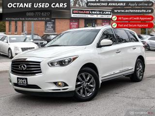 Used 2013 Infiniti JX35 Service Records at INFINITI Dealership! for sale in Scarborough, ON