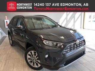 New 2019 Toyota RAV4 LIMITED  for sale in Edmonton, AB