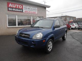 Used 2006 Hyundai Tucson GL for sale in St-Hubert, QC