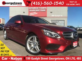 Used 2014 Mercedes-Benz E-Class E350 4MATIC | NAVI | PANO ROOF |360 CAM|H/K RADIO for sale in Georgetown, ON