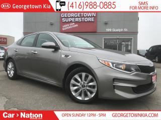 Used 2017 Kia Optima LX+ | BACK UP CAM | HTD SEATS | ALLOYS for sale in Georgetown, ON
