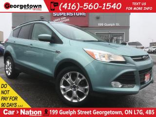 Used 2013 Ford Escape SE | NAVI | PANO ROOF | CHROME WHEELS | HTD SEATS for sale in Georgetown, ON