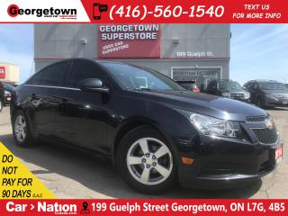 Used 2014 Chevrolet Cruze 2LT | LEATHER | ROOF | BU CAM | ALLOYS for sale in Georgetown, ON