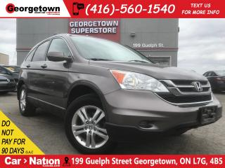 Used 2011 Honda CR-V EX-L w NAVI | AWD | SUNROOF | LEATHER | BU CAM for sale in Georgetown, ON