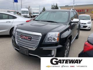 Used 2017 GMC Terrain Denali|V6|AWD|BLUETOOTH|ONE OWNER for sale in Brampton, ON