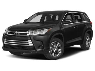 New 2019 Toyota Highlander LE for sale in Moncton, NB