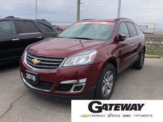 Used 2016 Chevrolet Traverse LT for sale in Brampton, ON