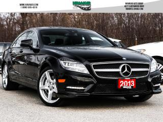 Used 2013 Mercedes-Benz CLS-Class 550 4MATIC for sale in North York, ON