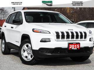 Used 2015 Jeep Cherokee Sport   Clean Carfax for sale in North York, ON