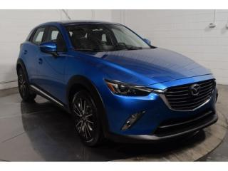 Used 2016 Mazda CX-3 GT AWD CUIR TOIT for sale in L'ile-perrot, QC