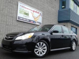 Used 2011 Subaru Legacy Ltd Gps Cuir Toit for sale in Richelieu, QC