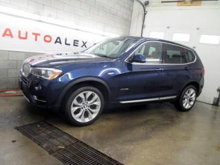 Used 2016 BMW X3 Xdrive28i Xdrive for sale in St-Eustache, QC