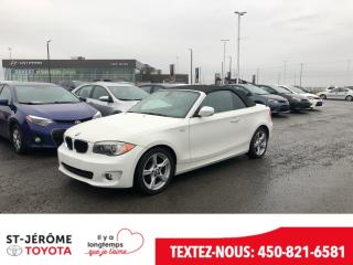 Used 2012 BMW 1 Series 128 Convertible for sale in Mirabel, QC
