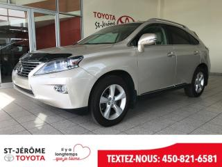 Used 2013 Lexus RX 350 * AWD * CUIR * TOIT * MAGS * for sale in Mirabel, QC