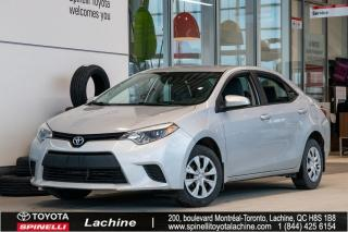 Used 2014 Toyota Corolla CE A/C for sale in Lachine, QC