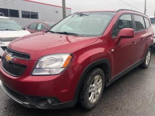 Used 2012 Chevrolet Orlando Chevrolet Orlando LT 2012 for sale in Québec, QC