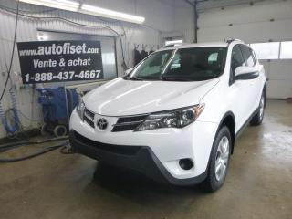 Used 2015 Toyota RAV4 LE for sale in St-Raymond, QC