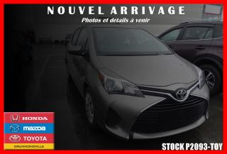 Used 2015 Toyota Yaris LE for sale in Drummondville, QC