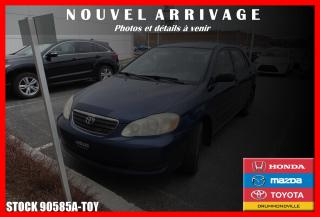 Used 2006 Toyota Corolla CE for sale in Drummondville, QC