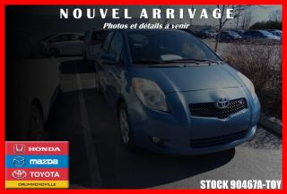 Used 2007 Toyota Yaris RS for sale in Drummondville, QC