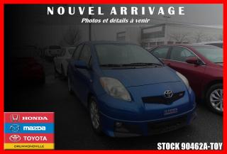 Used 2011 Toyota Yaris RS for sale in Drummondville, QC