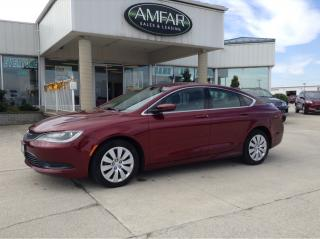 Used 2015 Chrysler 200 GREAT ON GAS / NO PAYMENTS FOR 6 MONTHS !! for sale in Tilbury, ON