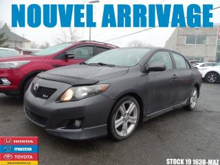Used 2010 Toyota Corolla Xrs|toitouv|mag|ac|c for sale in Drummondville, QC