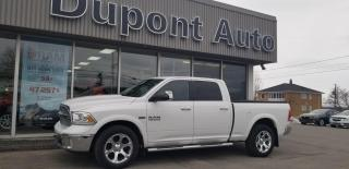 Used 2017 RAM 1500 Cabine multiplaces 4RM, 149 po Laramie for sale in Alma, QC