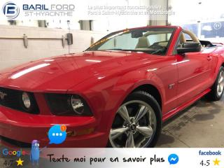 Used 2007 Ford Mustang 2dr Conv GT for sale in St-Hyacinthe, QC